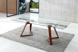 modern glass dining table modern glass extendable dining table dining tables awesome extendable glass dining table