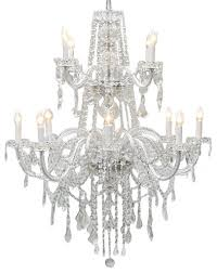 authentic all crystal chandelier lighting