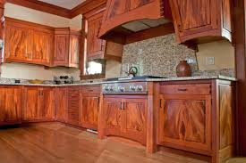 D African Mahogany Kitchen Cabinets