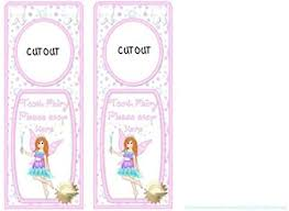 Door Hanger Tooth Fairy Redhead by Audrey Rae: Amazon.co.uk: Kitchen & Home
