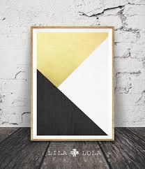 black white and gold print abstract art geometric decor modern minimalist wall art on large white and gold wall art with handmade board ideas black white and gold print abstract art