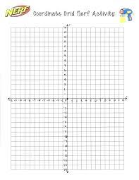 Math Worksheets Aids Grids Coordinate Grade Plane Maths