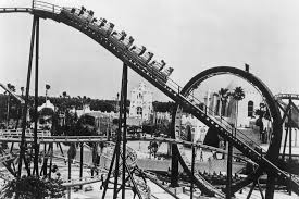 the opening of the scorpion coaster at busch gardens times 1980
