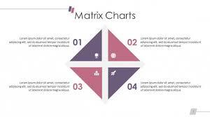 Matrix Chart Free Powerpoint Template