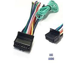 asc car stereo power speaker wire harness plug for pioneer premier aftermarket dvd nav radio avh p4200dvd, avh p4300dvd, avh p4250dvd cdp1301 Car Stereo Wiring Harness Diagram at Wiring Harness For Car Stereo Walmart