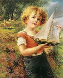 File:Émile Vernon (French, 1872-1919) «The toy boat».jpg - Wikimedia Commons