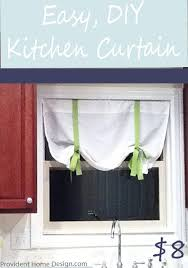 Kitchen Curtain Patterns Classy Easy 48 DIY Curtain