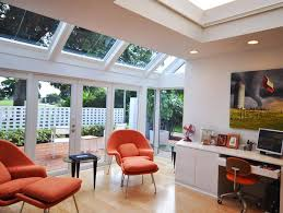 home office images modern. Orange-white Modern Office Home Images N