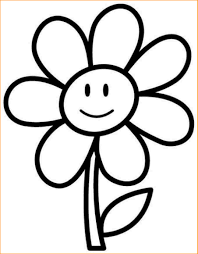 Small Picture Flower Coloring Pages For Kindergarten Coloring Pages Ideas