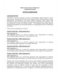 Resume Job Descriptions Examples Of Resumes Administrative
