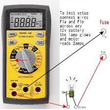 why fuses blow or how to short circuits or drains out what is shorted by pulling loads or other fuses you can also not use just this lamp no meter as a fuse replacement and see gross shorts
