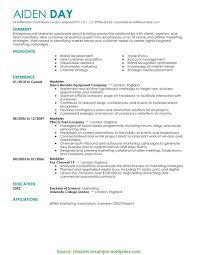 Top Marketing Manager Resume 2016 Marketing Resumes Resume Cv