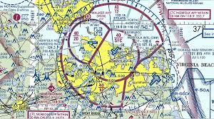 Virginia Aeronautical Chart Norfolk International Airport Orf