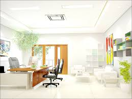 home office simple neat. Simple And Neat Office Interior Design Ideas : Awesome With White Leather Sofa In Home O
