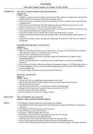 Sample Resume For Team Lead Position Security Team Lead Resume Samples Velvet Jobs