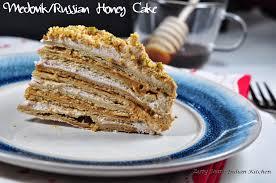 Medovik Medovink Russian Honey Cake for Baking Partners Challenge