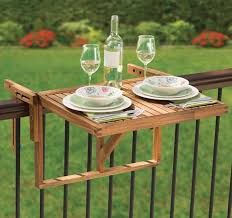 hang out on the balcony with bo planter and table railing diy
