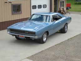 1968 Dodge Charger RT Blue - RJCARS Photo Gallery
