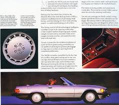 All original stock engine, interior and exterior in excellent showroom condition. 1987 Mercedes 560sl Brochure Page Mercedes Sl Mercedes Daimler Benz