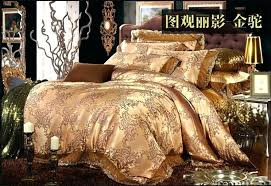 gold bedding set awesome pink