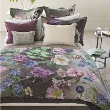 designers guild alexandria amethyst duvet cover collection