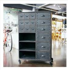 industrial metal storage cabinets. American Country To Do The Old Retro Style Loft Industrial Metal Storage Cabinet Drawers Side On Cabinets