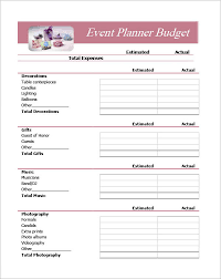 event planning jobs details file format event planning contract templates