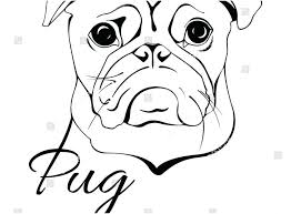 cute pug coloring pages pug coloring pages photo best ideas fabulous cute pug puppy coloring pages