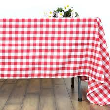 red and white gingham table cloth whole checd gingham polyester picnic dinner square tablecloth white red red and white gingham table cloth