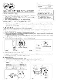 hampton bay 70830 installation guide