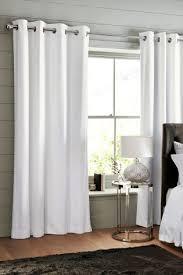 Simple Art White Bedroom Curtains Alyssa Rosenheck White And Cream ...