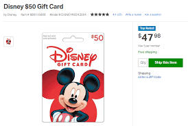 Enter your 16 digit card number in the redeem gift certificate box and the 8 digit pin in the security code box. Discount Disney Gift Cards The Best Deals Where To Get Them The Frugal South