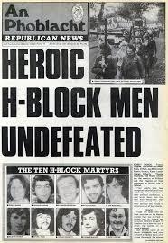「1981 Irish hunger strike」の画像検索結果