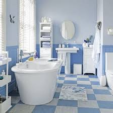 bathroom floor tile blue. Top 25 Best Blue White Bathrooms Ideas On Pinterest Bathroom Floor Tile | 550 X