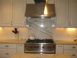delightful tile backsplash behind stove 4 l and stick kitchen ideas