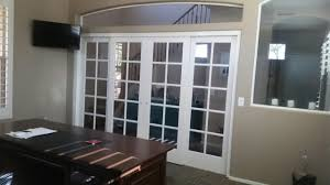 office french doors. Four French Doors Installed In An Archway Office E