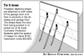 garage door braceHonolulu StarBulletin Features