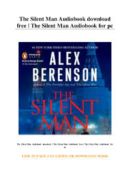 The Silent Man Audiobook download free | The Silent Man Audiobook for…