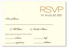 Rsvp Cards Sample Under Fontanacountryinn Com