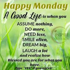Good Morning Monday Quotes Best Of Happy Monday You Are Blessed Monday Good Morning Monday Quotes Good