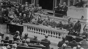 「The United States formally entered World War I on April 6, 1917.」の画像検索結果