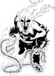 free ghost rider coloring pages for kids. coloring pages on ...
