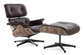 Classic office chairs Wrap Around Classic Lounge Chair Ottoman Brown Digitalmemoriesinfo Best Eames Lounge Chair Replica Manhattan Home Design