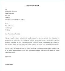 appraisal letter appraisal letter template flybymedia co