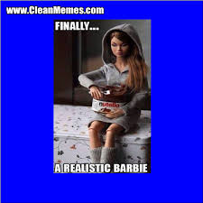 A Realistic Barbie | Clean Memes – The Best The Most Online via Relatably.com