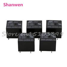 popular relay pins buy cheap relay pins lots from relay pins 5pcs sra 24dc cl 20a dc 24v coil pcb general purpose relay 5 pins