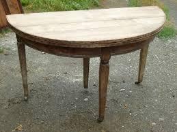 Arkelstorp Table Demi Lune Blanc Amazon Fr Cuisine Maison