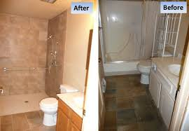 edge convert bathtub to walk in shower curbless tub conversion for a handicap parker co