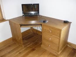 bespoke corner desk pine desks and dressing tables pine bury
