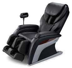 living room furniture panasonic urban collection reclining massage chair black